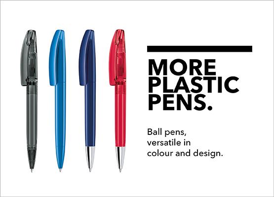 Plastic Pen Collection